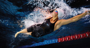 Hi-tech swimsuits have helped athletes break world records
